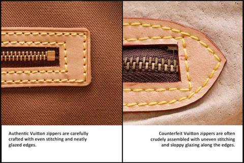 louis vuitton Stitching Quality