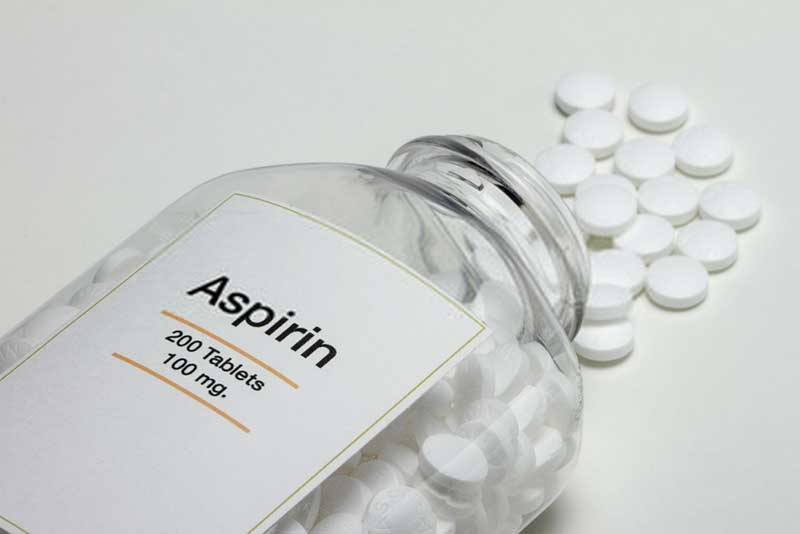Aspirin for corns